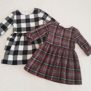 NWOT Lot 2 Carter's Kids Infant Girl Dresses 24m
